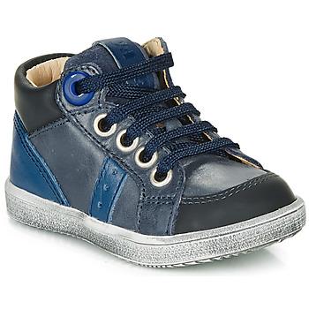 Schoenen Jongens Hoge sneakers GBB ANGELITO Blauw