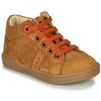 Schoenen Jongens Hoge sneakers GBB ANGELITO Cognac
