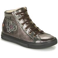 Schoenen Meisjes Hoge sneakers GBB MARTA Grijs