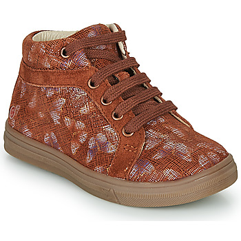 Schoenen Meisjes Hoge sneakers GBB OMBLINE Rood