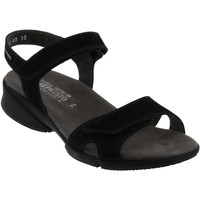 Schoenen Dames Sandalen / Open schoenen Mephisto Francesca Nubuck zwart