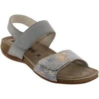 Schoenen Dames Sandalen / Open schoenen Mephisto AGAVE Lichtgrijs