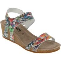 Schoenen Dames Sandalen / Open schoenen Mephisto MINOA Meerkleurig leer