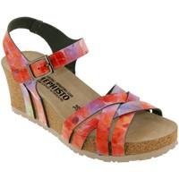Schoenen Dames Sandalen / Open schoenen Mephisto Lanny Meerkleurig oranje / roze