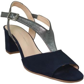 Schoenen Dames Sandalen / Open schoenen Brenda Zaro F3243 Marineblauw fluweel