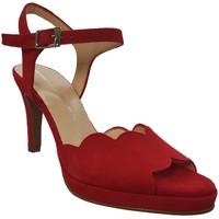 Schoenen Dames Sandalen / Open schoenen Brenda Zaro F3229 Fluweelrood