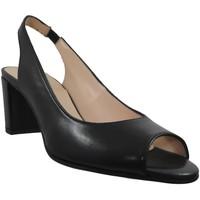 Schoenen Dames Sandalen / Open schoenen Brenda Zaro F3275 Zwart leer