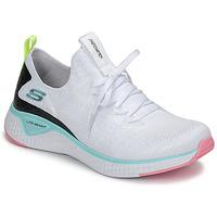 Schoenen Dames Fitness Skechers FLEX APPEAL 3.0 Wit / Roze / Blauw