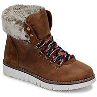 Schoenen Dames Laarzen Skechers BOBS ROCKY Bruin