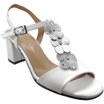 Schoenen Dames Sandalen / Open schoenen Brenda Zaro F3242 Wit leer