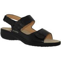 Schoenen Dames Sandalen / Open schoenen Mobils By Mephisto GETHA Zwart leer