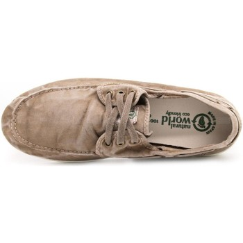 Schoenen Heren Wandelschoenen Natural World NAW303E621be grigio