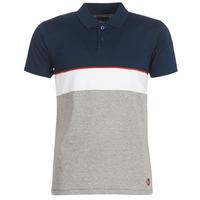 Textiel Heren Polo's korte mouwen Casual Attitude KOULAZ Marine / Grijs / Wit