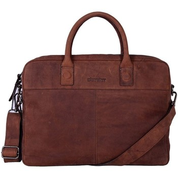 Tassen Computertassen Dstrct Wall Street Business Laptop Bag 13-15 inch Bruin