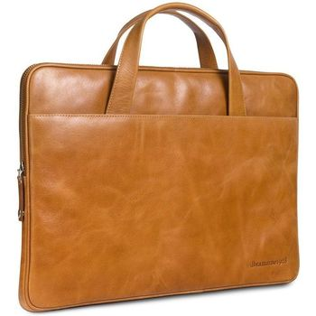 Tassen Computertassen Dbramante1928 Silkeborg Leather Sleeve Tan 15 inch Bruin