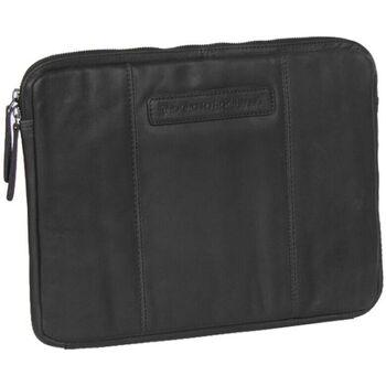 Tassen Computertassen Chesterfield Richard Leather Sleeve 13.3 inch Zwart