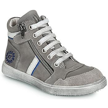 Schoenen Jongens Hoge sneakers Ramdam HOUSTON Grijs