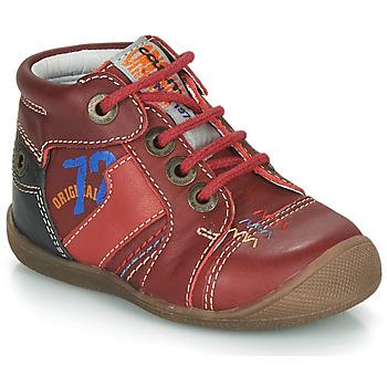 Schoenen Jongens Laarzen Catimini CYRUS Rood