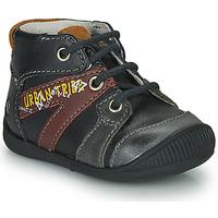 Schoenen Jongens Laarzen GBB LEWIN Zwart