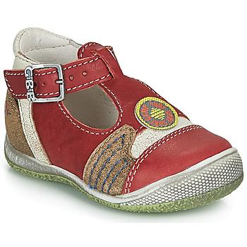 Schoenen Jongens Sandalen / Open schoenen GBB MARIO Rood