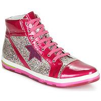 Schoenen Meisjes Hoge sneakers Ramdam KATO Roze