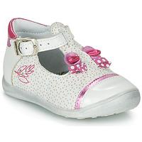 Schoenen Meisjes Sandalen / Open schoenen Catimini CALATHEA Wit / Roze