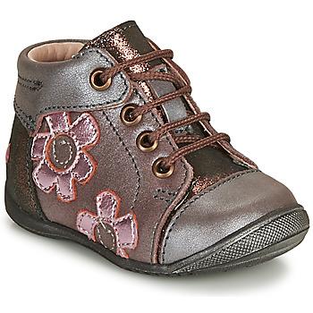 Schoenen Meisjes Laarzen GBB NEIGE Violet / Roze