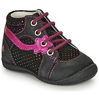 Schoenen Meisjes Laarzen GBB NOEMIE Zwart