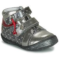 Schoenen Meisjes Laarzen GBB NICOLINE Zilver
