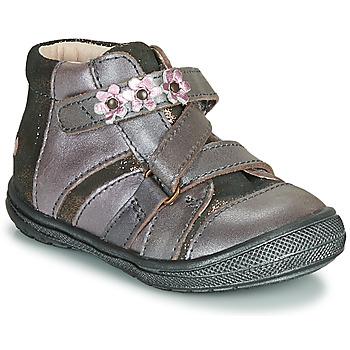 Schoenen Meisjes Laarzen GBB NICOLETA Hout / Roze