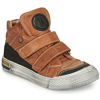 Schoenen Jongens Hoge sneakers Achile HUGO Cognac