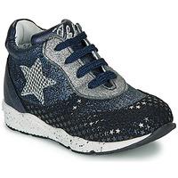 Schoenen Meisjes Lage sneakers Ikks KAREN Blauw / Zilver
