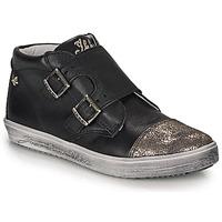Schoenen Meisjes Hoge sneakers Ikks BIANCA Zwart