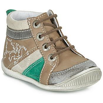 Schoenen Jongens Laarzen GBB PRAGUE Bruin