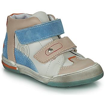 Schoenen Jongens Hoge sneakers GBB PATRICK Grijs / Blauw