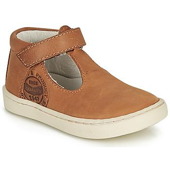 Schoenen Jongens Sandalen / Open schoenen GBB PRESTON Cognac