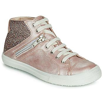 Schoenen Meisjes Hoge sneakers Achile KAMI Roze