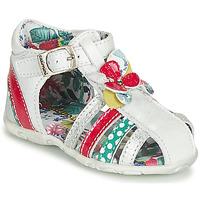 Schoenen Meisjes Sandalen / Open schoenen Catimini PERSAN Wit / Multi