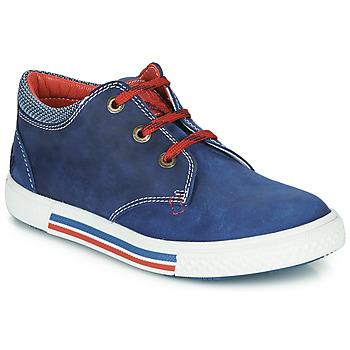 Schoenen Jongens Lage sneakers Catimini PALETTE Blauw / Rood