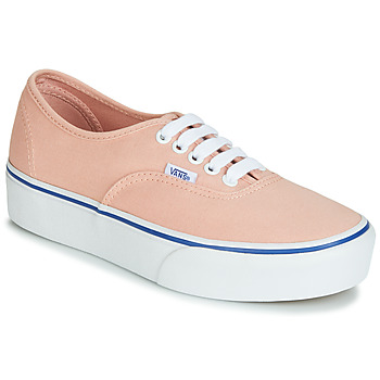 Schoenen Dames Lage sneakers Vans AUTHENTIC PLATFORM 2.0 Roze
