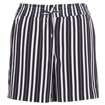ONLY Gestreepte Shorts Dames Blauw