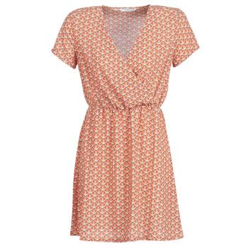 Textiel Dames Korte jurken Only ONLTULIPE Oranje