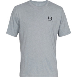 Textiel Heren T-shirts korte mouwen Under Armour Sportstyle Left Chest Tee 1326799-036