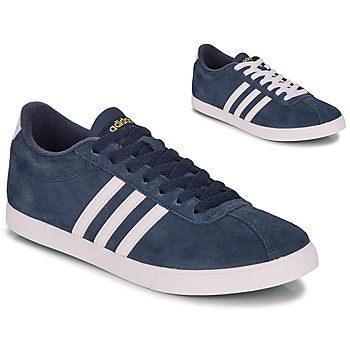 Schoenen Dames Lage sneakers adidas Originals COURTSET N AVY Marine