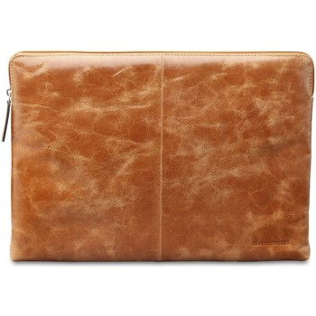 Tassen Computertassen Dbramante1928 Leren Laptop Sleeve 15 inch MacBook Pro Skagen Tan Bruin