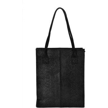 Tassen Dames Handtassen lang hengsel Dstrct Portland Road A4 Shopper Zwart