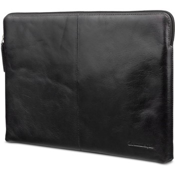 Tassen Computertassen Dbramante1928 Leren Laptop Sleeve 13 inch MB Pro/Air 2016/18) Skagen Zwart