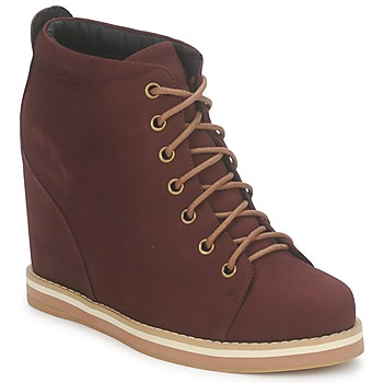 Schoenen Dames Low boots No Name WISH DESERT BOOTS Bordeau