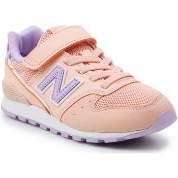 Schoenen Meisjes Lage sneakers New Balance YV996M2 orange