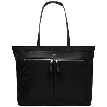 Tassen Dames Computertassen Knomo Grosvenor Place Expandable Tote 15 inch Zwart